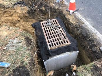 drainage installation Stokes Road
